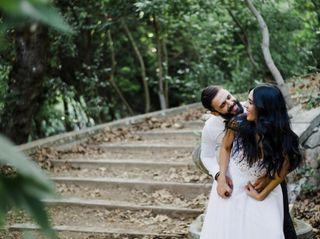 The wedding of Dimitris and Georgina