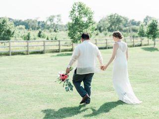 The wedding of Morgan and Chris