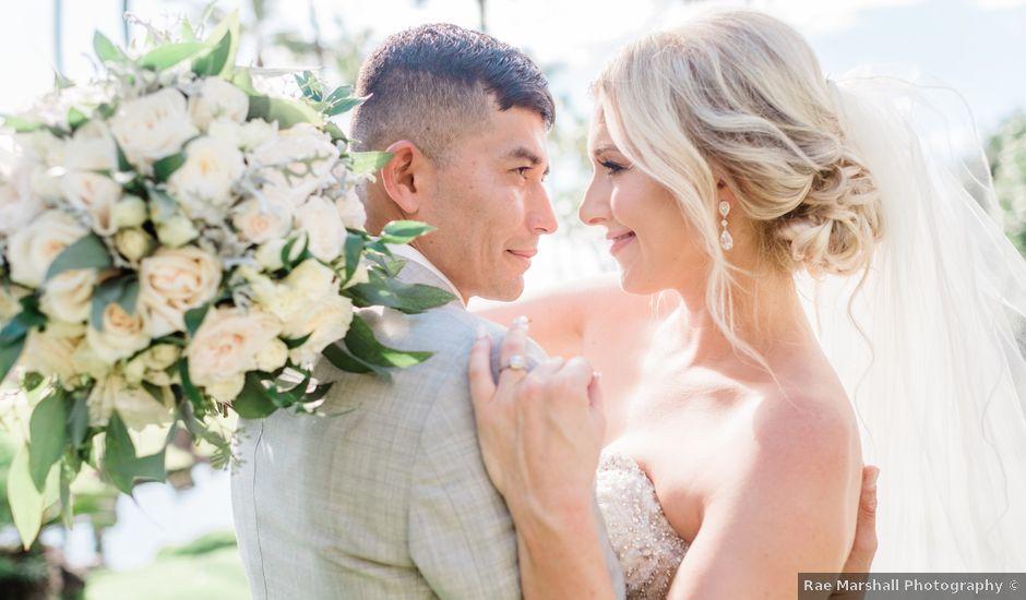 Antonio and Kirsten's Wedding in Lahaina, Hawaii