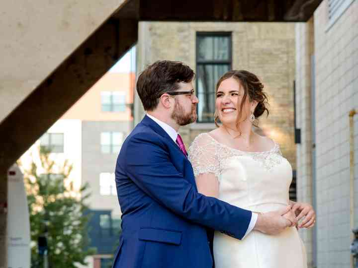 The wedding of Becca and Tom