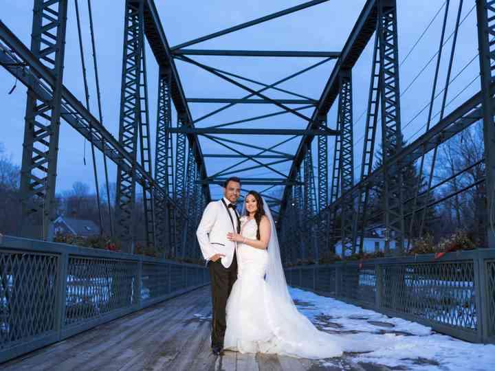 The wedding of Oscar and Jessica