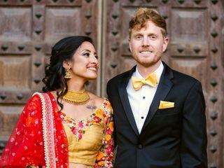 The wedding of Utsha and John 1