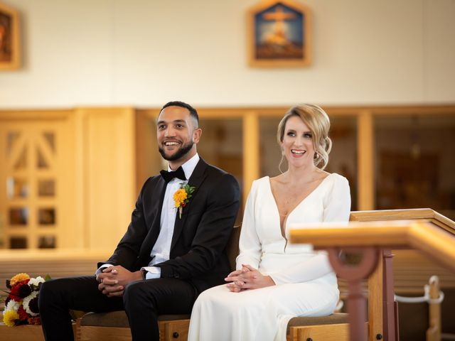 The wedding of Kelly and Keenan