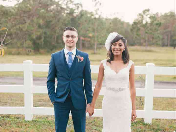 The wedding of Russell and Camara