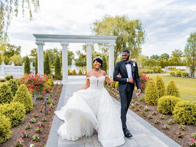 Jacea and Walter's Wedding in Voorhees, New Jersey 16