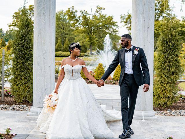 Jacea and Walter's Wedding in Voorhees, New Jersey 17