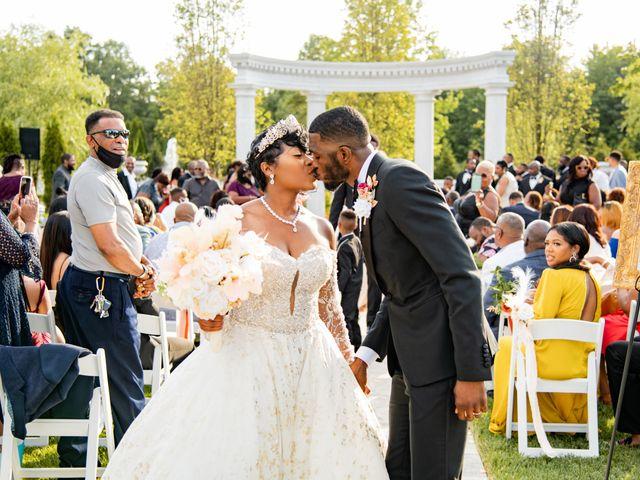Jacea and Walter's Wedding in Voorhees, New Jersey 48