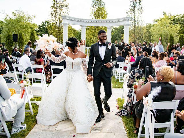 Jacea and Walter's Wedding in Voorhees, New Jersey 49