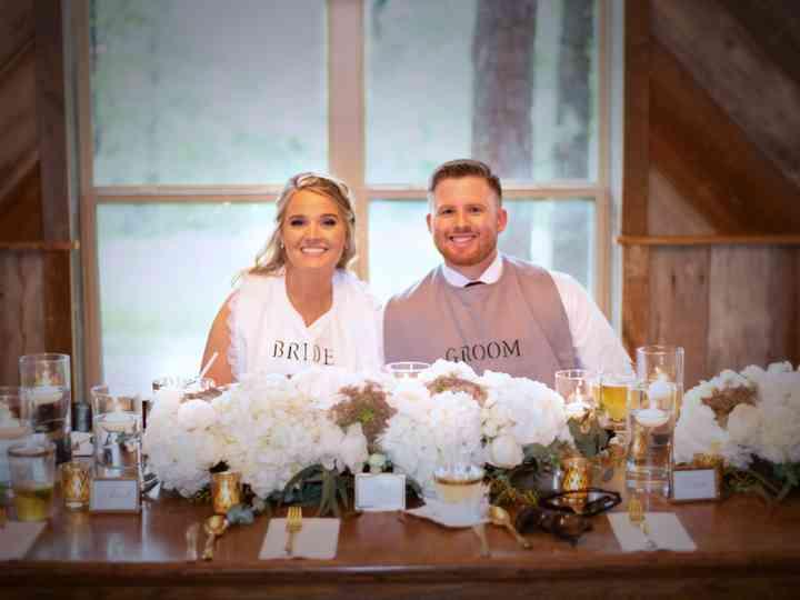 The wedding of Kyle and Lauren