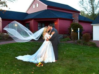 The wedding of Paige and Trevor