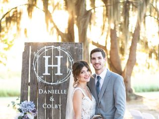 The wedding of Danielle and Colby 1