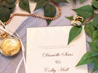 The wedding of Danielle and Colby 2