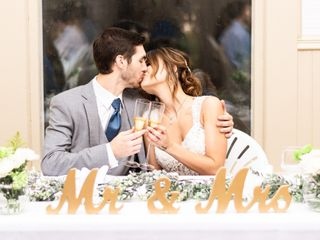 The wedding of Danielle and Colby