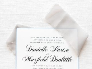 The wedding of Danielle and Max 2