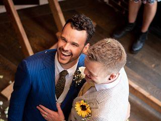 The wedding of Shane and Garrett 2