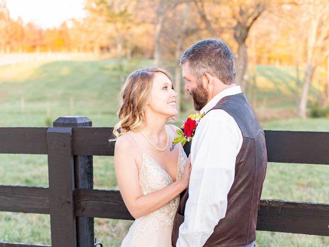 The wedding of Samantha and Preston