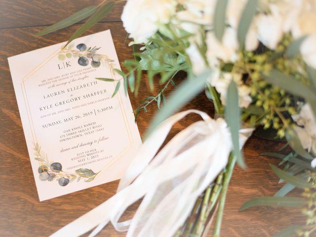 Lauren and Kyle's Wedding in Springtown, Texas 7