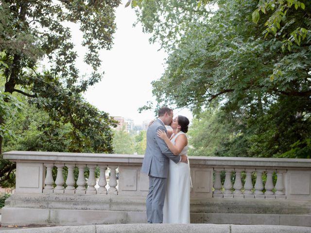 The wedding of Tori and Matt
