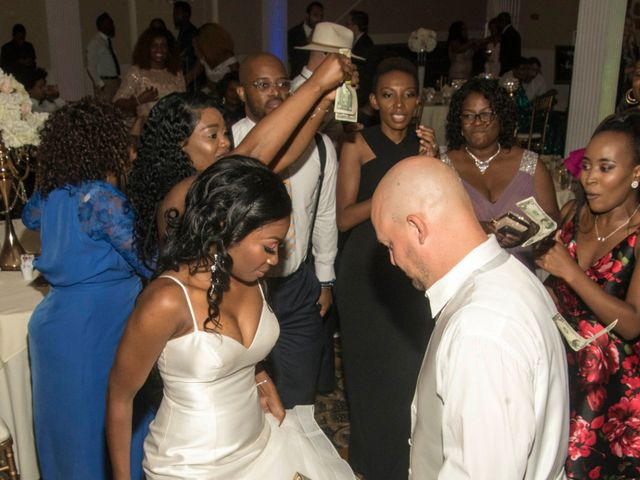 Nick and Omega's Wedding in Elmhurst, Illinois 3