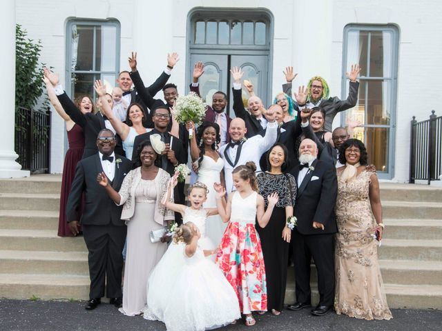 Nick and Omega's Wedding in Elmhurst, Illinois 13