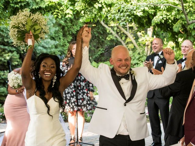 Nick and Omega's Wedding in Elmhurst, Illinois 15