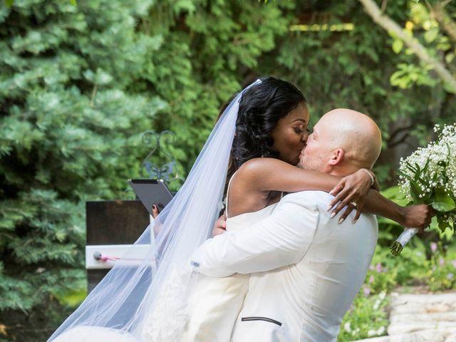 Nick and Omega's Wedding in Elmhurst, Illinois 16