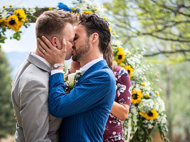 The wedding of Shane and Garrett