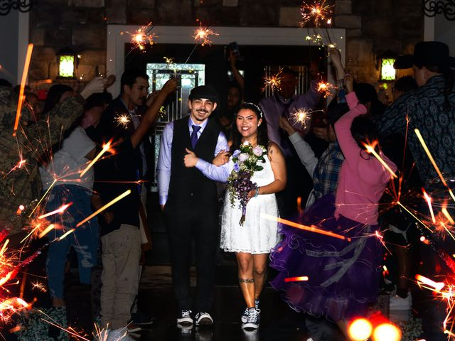 The wedding of Katy and Emmett