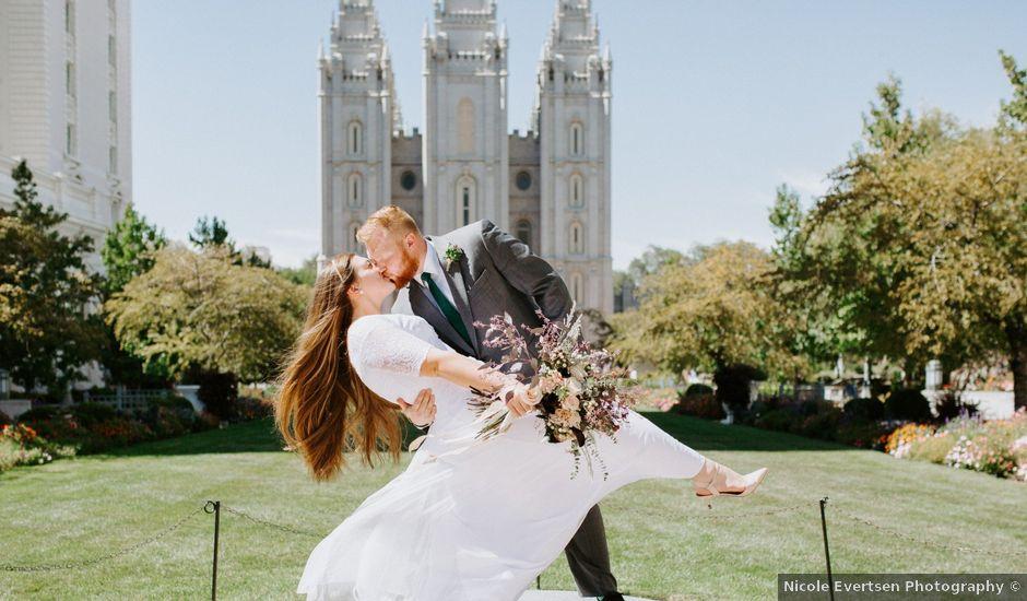 Jacob and Kadyne's Wedding in Salt Lake City, Utah
