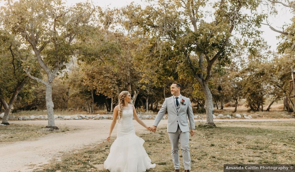 Tommy and Katelyn's Wedding in Lytle Creek, California