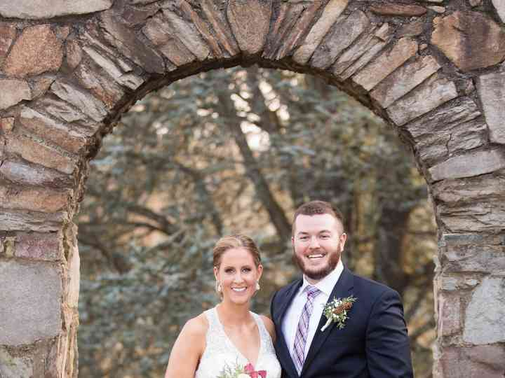 The wedding of Branden and Rachel