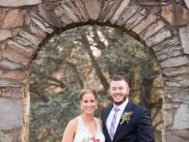 The wedding of Branden and Rachel