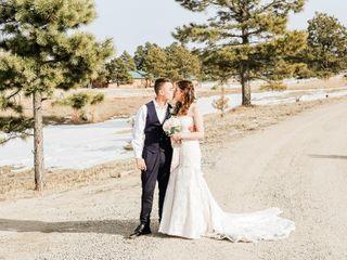 The wedding of Alana and Brett