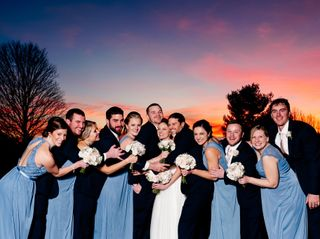 The wedding of Samantha and Colin 1
