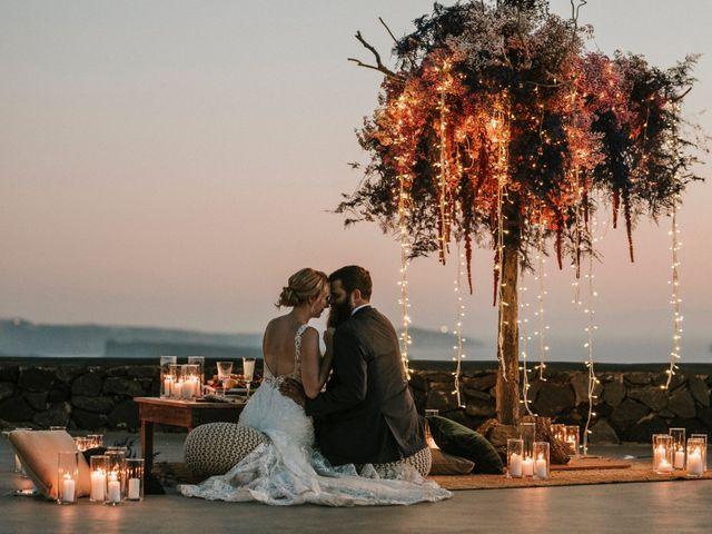 Azelin and Paul's Wedding in Santorini, Greece 2