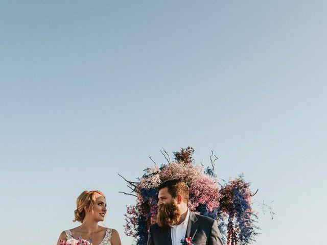Azelin and Paul's Wedding in Santorini, Greece 13