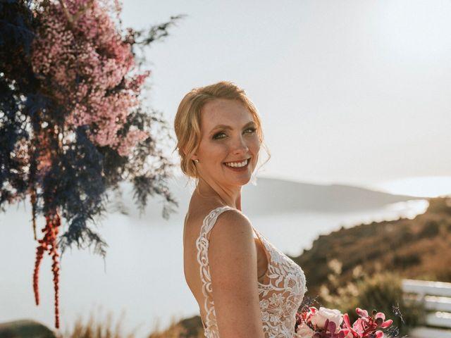 Azelin and Paul's Wedding in Santorini, Greece 17
