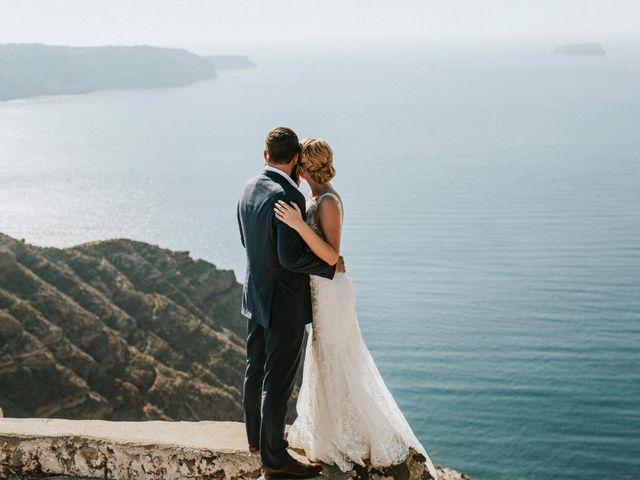 Azelin and Paul's Wedding in Santorini, Greece 25