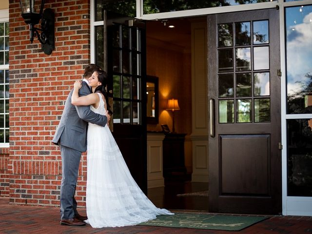 Clark and Nikki's Wedding in Raleigh, North Carolina 14