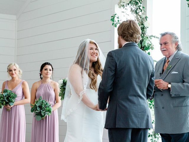 Dani and Will's Wedding in Montgomery, Texas 12