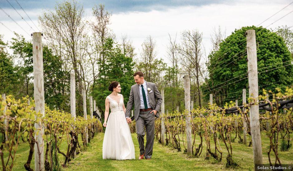 John and Bridget's Wedding in Cazenovia, New York