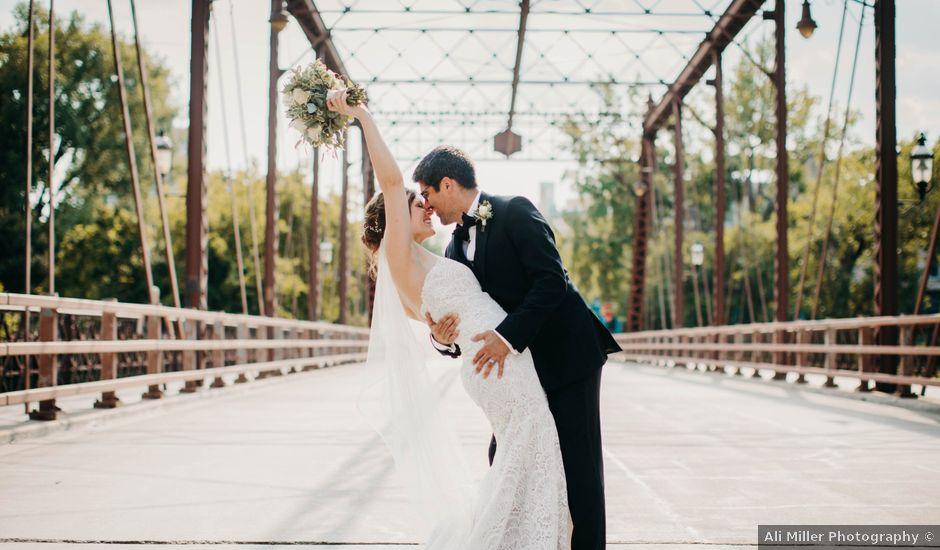 The wedding of Dani and Jason
