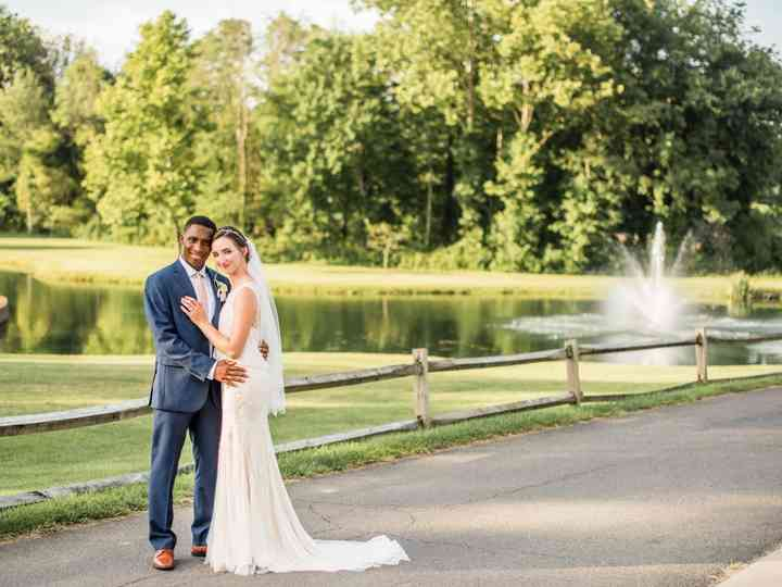 The wedding of Rachad and Katie