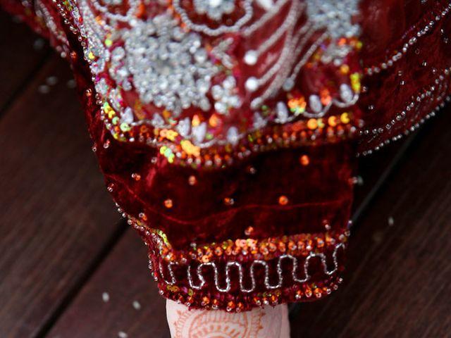 Whitney and Aadhar's wedding in Texas 2