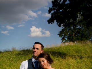 The wedding of Amber and Jon