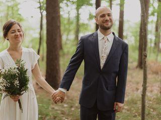 The wedding of Kim and Brett