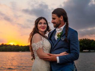 The wedding of Erika and Luke