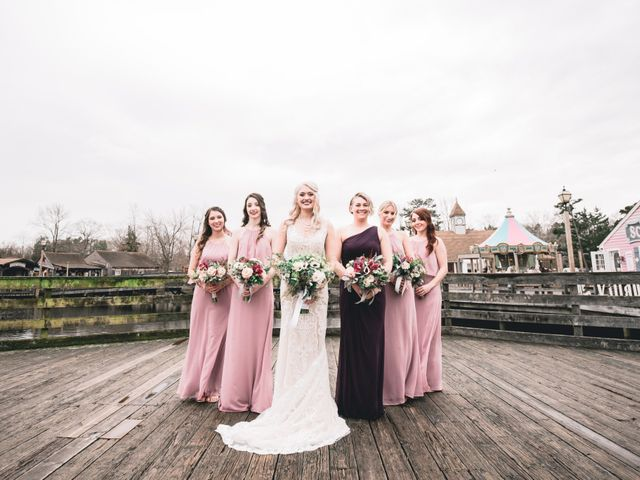 Michael and Alyssa's Wedding in Absecon, New Jersey 13