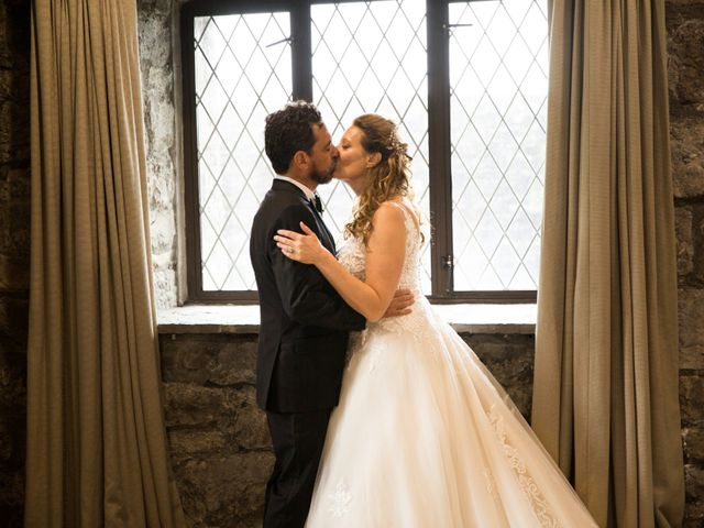 The wedding of Carlos and Jennifer