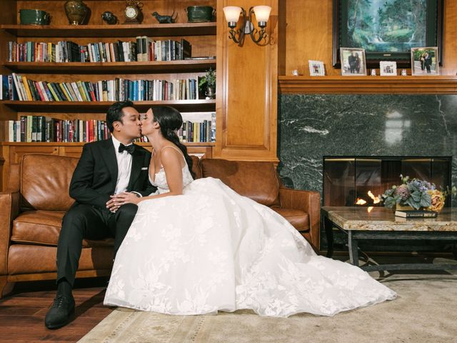 The wedding of Stephanie and Leandro